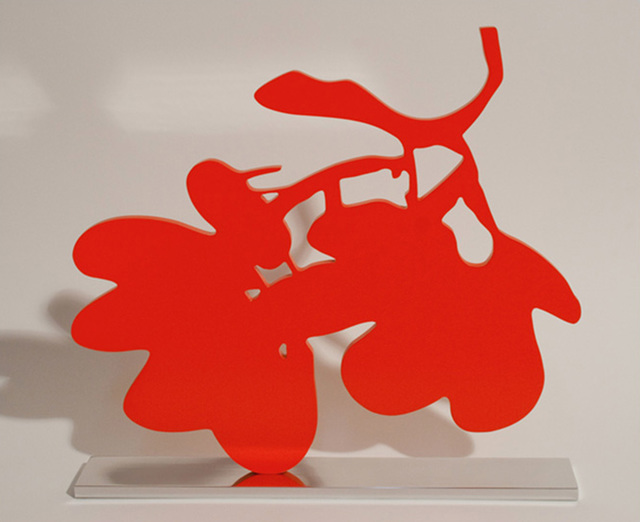 , 'Red Lantern Flower,' 2013, William Campbell Contemporary Art, Inc.