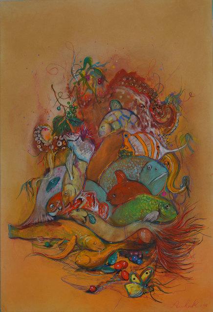 , 'Fishes,' 2016, Albemarle Gallery | Pontone Gallery