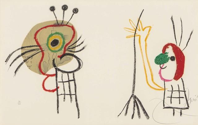 , 'Sans titre (l'Enfance d'Ubu),' 1975, Galerie Raphael