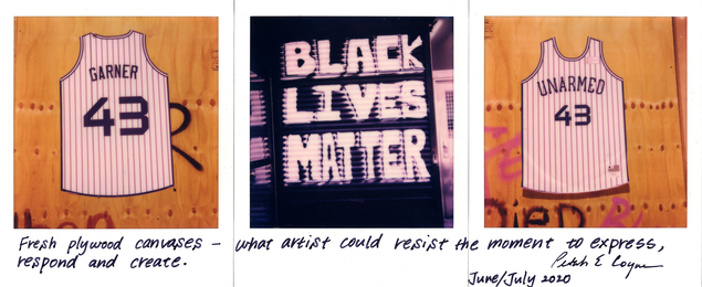 Untitled #1510 (Garner/Black Lives Matter/Unarmed)