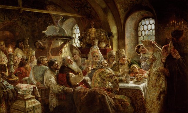 , 'A Boyar Wedding Feast,' 1883, Hillwood Estate, Museum & Gardens