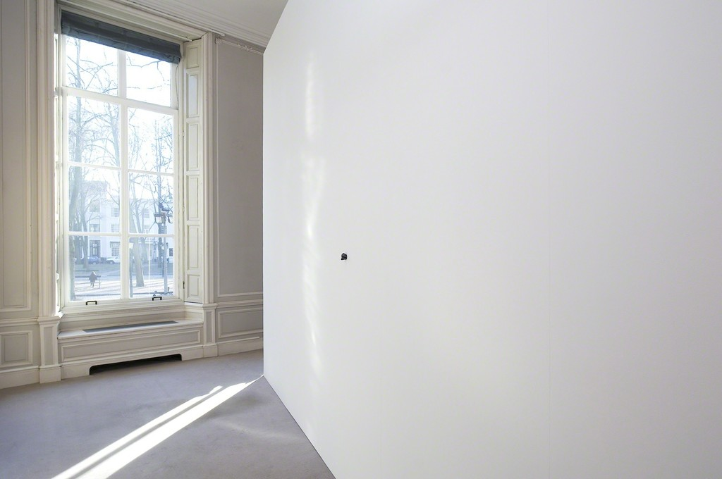 Gabriel Kuri. Flat hole, 2012. Digital print on fabric, wall. 400 x 600 x 27 cm