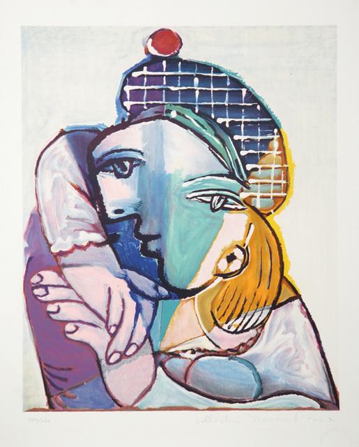 Pablo Picasso, 'Portrait de Femme au Beret Ecossais, 1937', 1979-1982, Print, Lithograph on Arches paper, RoGallery