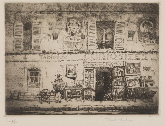 , 'The Curiosity Shop, Rue Campagne Première, Paris,' 1925, Childs Gallery