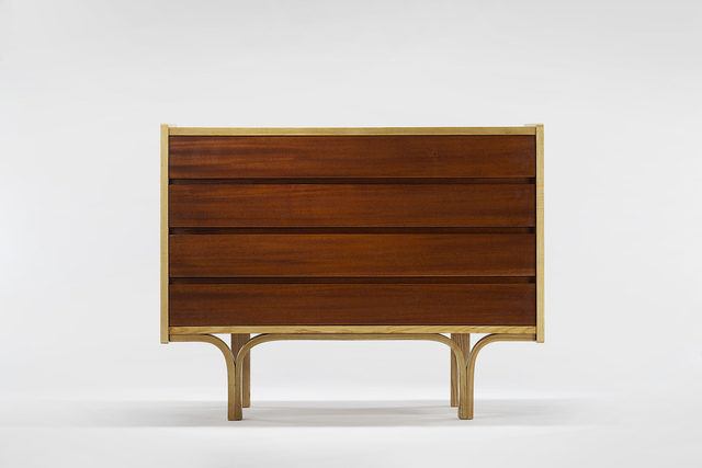 , 'Commode / Chest of Four Drawers,' 1954, Demisch Danant