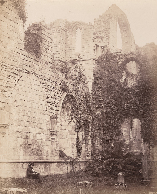 Philip Henry Delamotte, 'Fountains Abbey. Interior of Chapter House', 1856/1856, Contemporary Works/Vintage Works