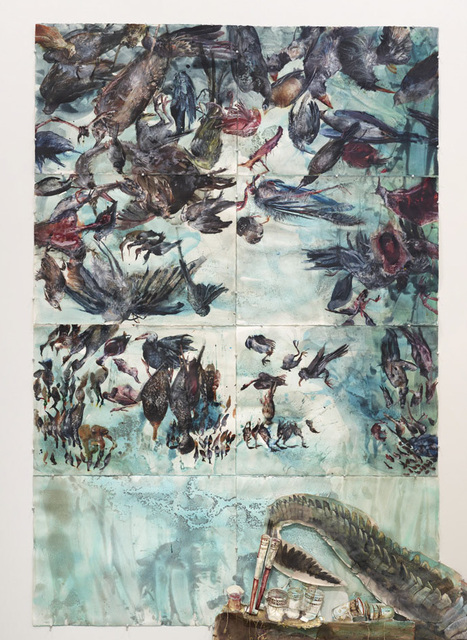 , 'Tempest in a Teacup (Chapter IX),' 2016, Diane Rosenstein