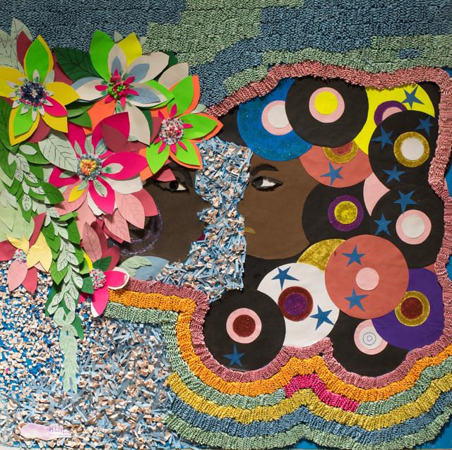 , 'Ma fleur [Flower Lady],' 2017, AfricArt Gallery Hong Kong