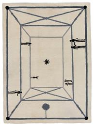 "Diego Giacometti, '""La Rencontre"" Carpet,' , Sotheby's: Important Design"