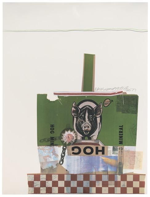 Robert Rauschenberg, 'Hog Chow (Chow Bags)', 1977, San Francisco Museum of Modern Art (SFMOMA)
