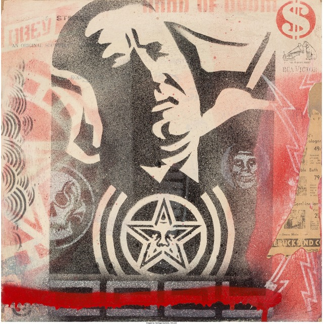 Shepard Fairey (OBEY), 'Record Cover', 2003, Heritage Auctions