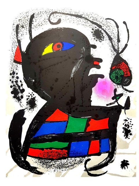 Joan Miró, ' Joan Miró - Original Abstract Lithograph', 1976, Galerie Philia