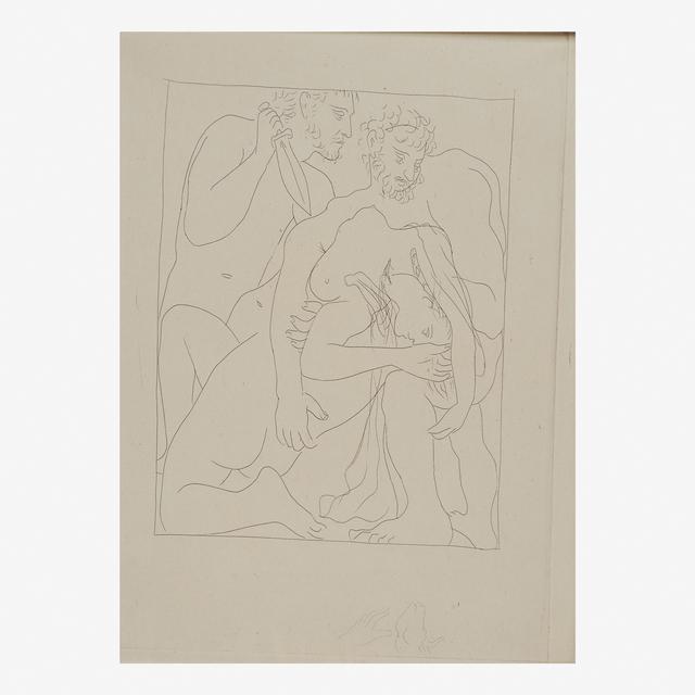 Pablo Picasso, 'Polyxène, Fille de Priam, Est Egorgée sur la Tombe d'Achille', 1931, Rago/Wright