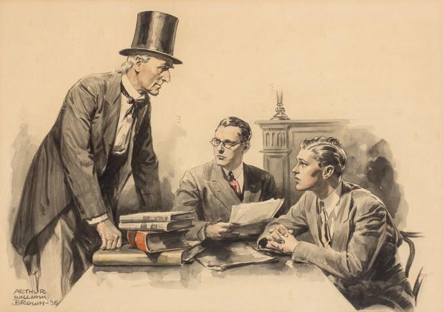 William Arthur Brown, 'Ephraim Tutt', 1936, Doyle