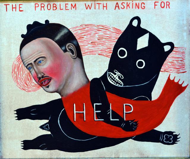 , 'Asking For Help,' 2017, Koplin Del Rio
