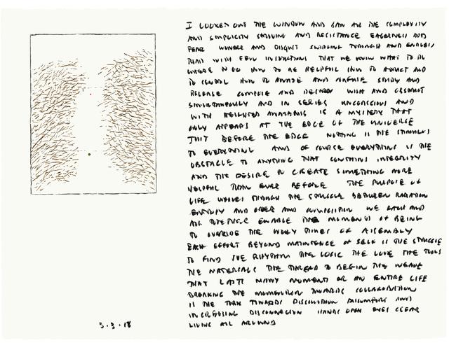 Edwin Schlossberg, '3.3.13', 2013, Ronald Feldman Gallery