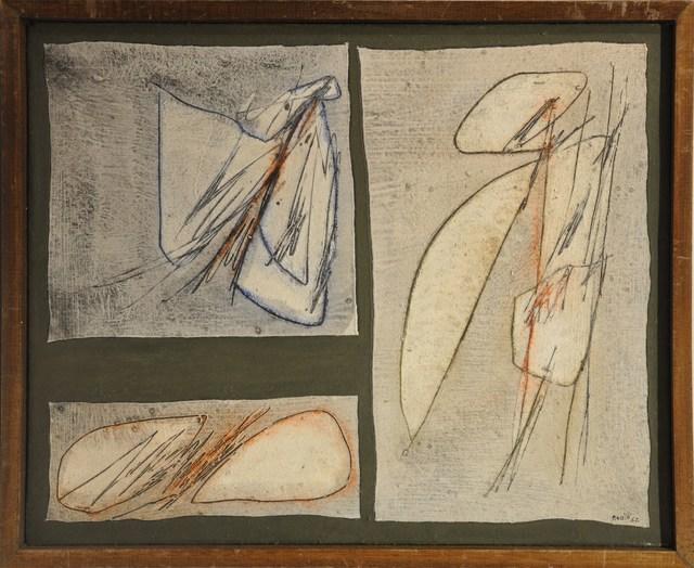 , ' Lo Spazio Solido ,' 1962, Galleria Tega