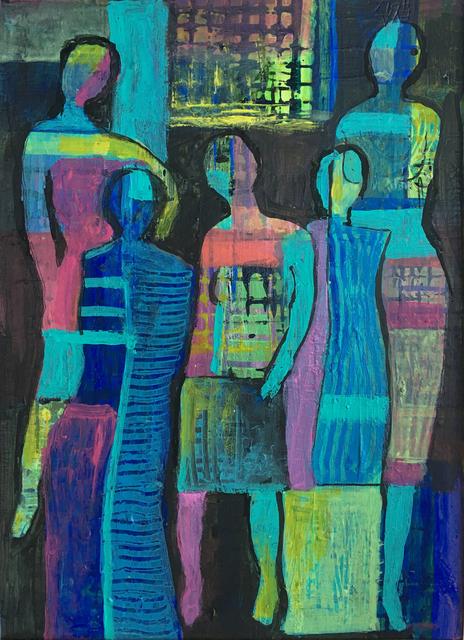 Eva Holz, 'Mujeres en acción', 2018, ArtLabbé Gallery
