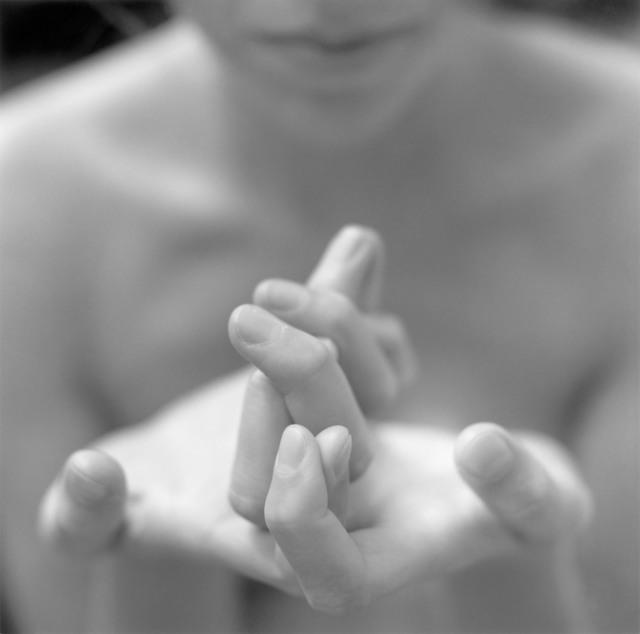 Mona Kuhn, 'Nikki's Hands', 1998, Edwynn Houk Gallery