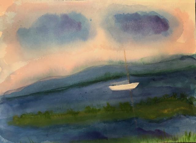 Kathryn Lynch, 'White Sail', 2019, ARC Fine Art LLC