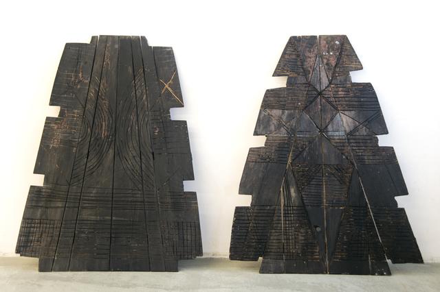 , 'Guard I - Guard II,' 2018, Annette De Keyser Gallery