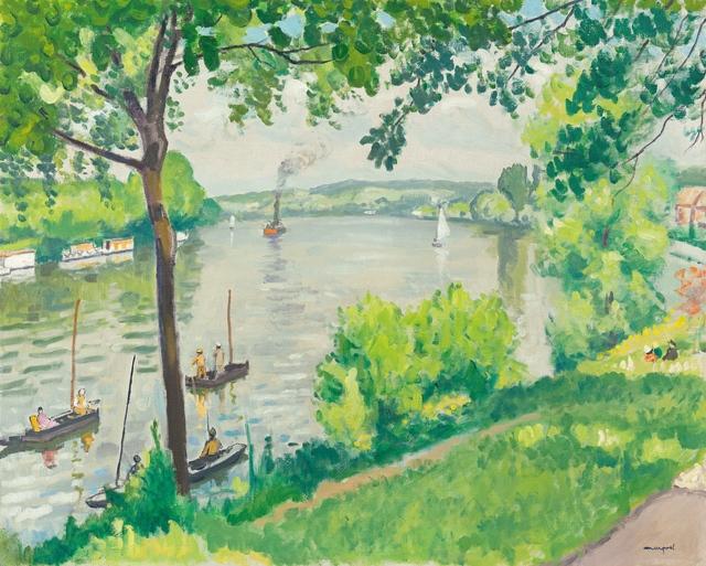 , 'Berge à Triel (le remorqueur),' 1931, Richard Green Gallery