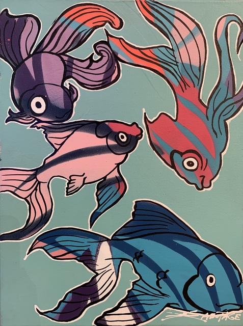 , 'Fish Tourists,' 2019, Art Supermarket