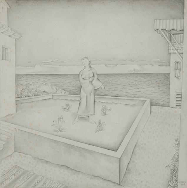 Richard Eurich, 'The Garden', 1928, Waterhouse & Dodd
