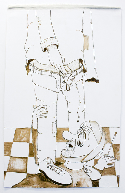 , 'The Painter and the Poet,' 2018, MARS