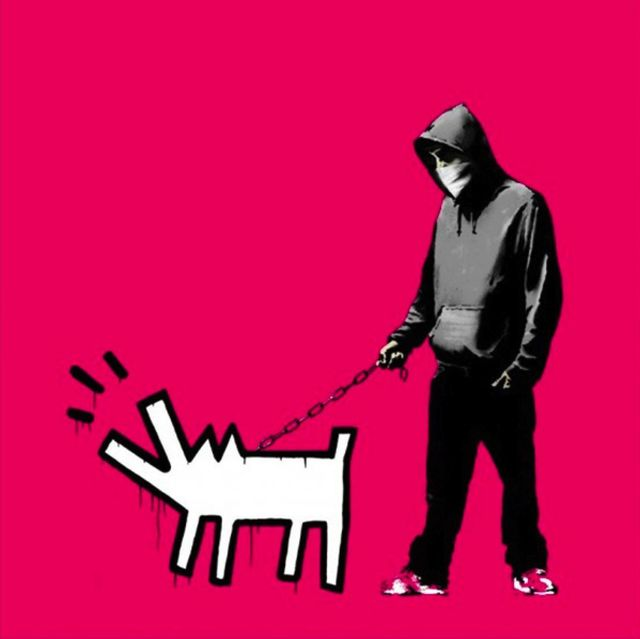 Banksy, 'Choose Your Weapon (Magenta)', 2010, Print, Screenprint in colours, on wove paper, with full margins, Taglialatella Galleries