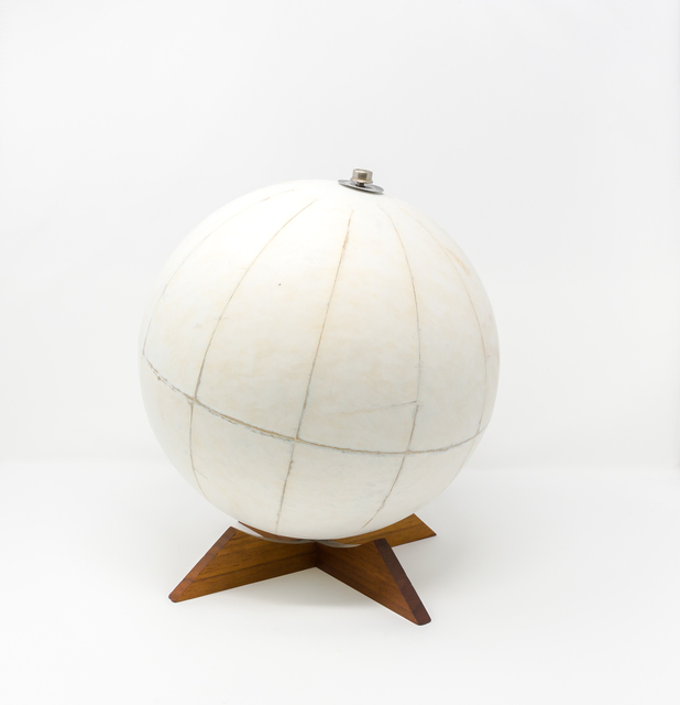 Agustina Woodgate, 'Untitled (World Globe) Hand-sanded mid-century World Globe, 10 in. diameter — $ 5,000', 2019, Spinello Projects