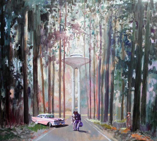 , 'El bosque,' 2017, Aurora Vigil-Escalera Art Gallery