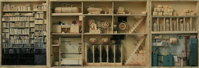 , 'Boîte jaune pliable,' 2008, Jonathan LeVine Projects