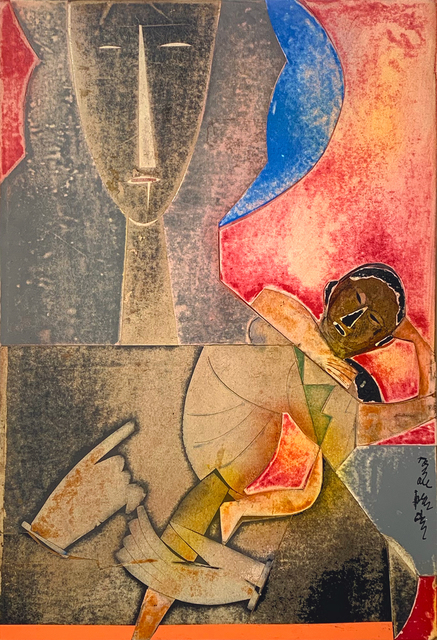 Romare Bearden, 'Mother and Child', 1971, Alan Avery Art Company