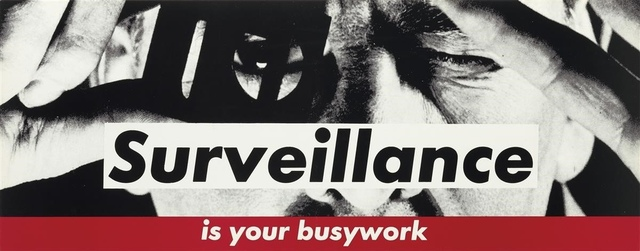 Barbara Kruger, 'Surveillance', c.1983, Forum Auctions