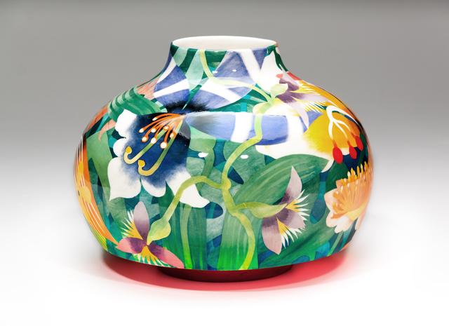 John Newdigate, 'Exotic Blooms', 2019-2020 , Design/Decorative Art, Hand Painted, Glazed Porcelain, EBONY/CURATED