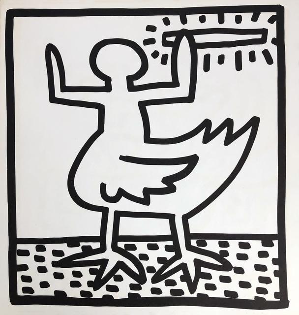 Keith Haring, 'Keith Haring lithograph 1982 (Keith Haring prints) ', 1982, Lot 180
