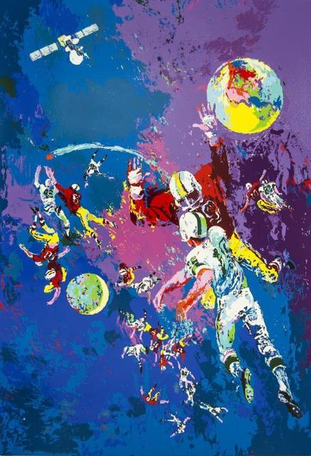 LeRoy Neiman, 'Satellite Football', 1982, Baterbys Art Gallery