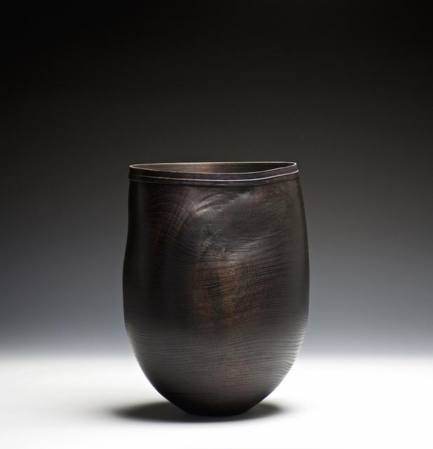 , '160 Fumed Oak Vessel C17,' 2017, Sarah Myerscough Gallery