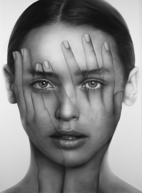 TIGRAN TSITOGHDZYAN, 'Mirror C', 2020, Painting, Drawing on print, FREMIN GALLERY