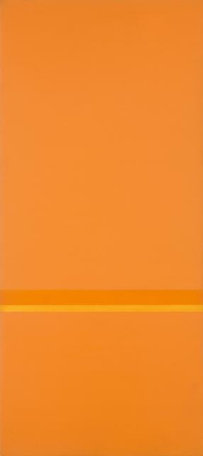, 'Orizzonte bicromo A,' 1959-1960, Matteo Lampertico