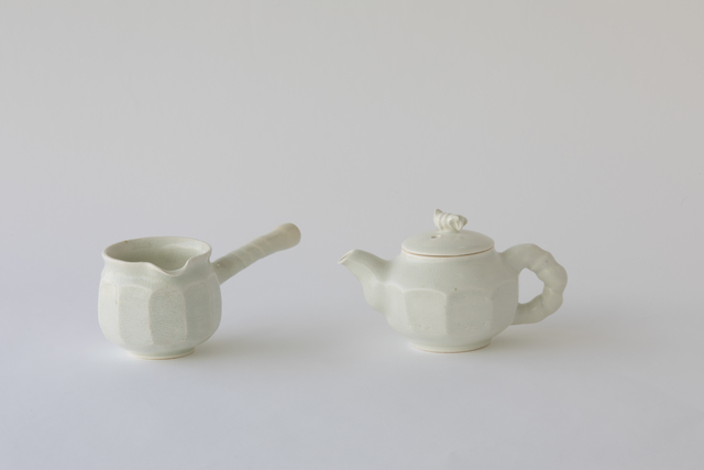 , 'Buncheong Tea Set I,' 2016, Soluna Fine Art