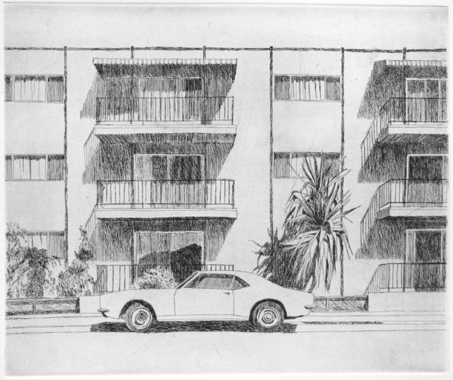 , 'Alameda Camaro,' 1967, Crown Point Press
