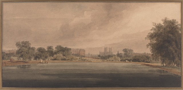Thomas Girtin, 'St. James' Park with a View of Westminster Abbey', National Gallery of Art, Washington, D.C.