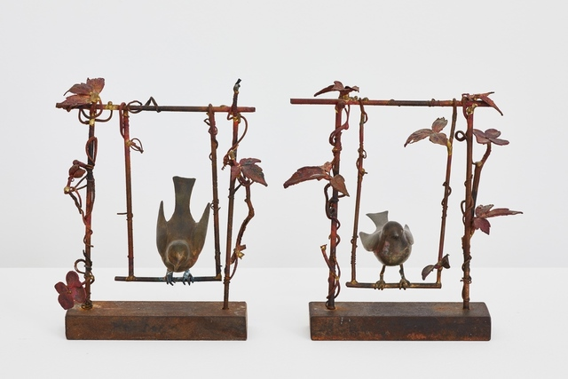 , 'Paire d'oiseaux sur la balançoire,' 2000, Galerie Mitterrand