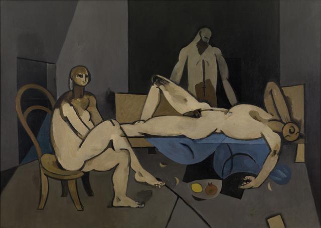 , 'Theseus and the Minotaure (Interior at Minos or Theseus),' 1950, Osborne Samuel
