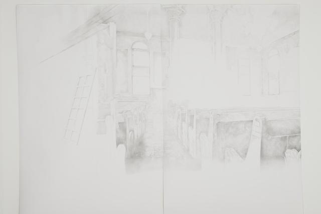 , 'Synagogue Ghost I,' 2015, Mirav Katri