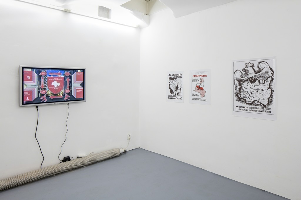 Installation view of 'Intermarium'.