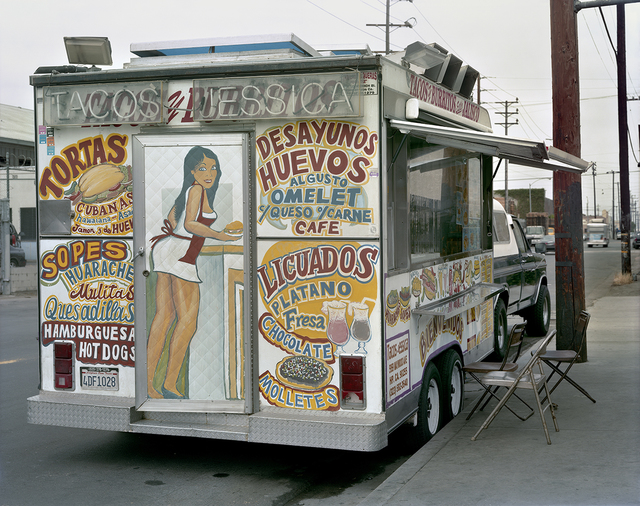 , 'Tacos Jessica Taco Truck, East Los Angeles, California,' 2009, Robert Klein Gallery