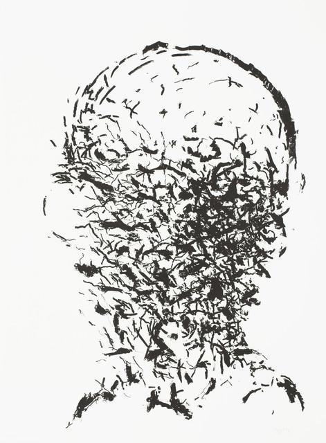 Per Inge Bjørlo, 'Hode - sort', Kunstverket Galleri